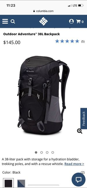 Columbia 38L backpacking bag for Sale in Dallas, TX