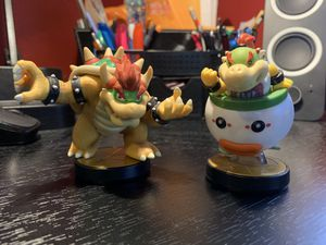 Bowser & Bowser Jr. Nintendo Switch Smash Bros. Amiibos for Sale in Monroeville, PA