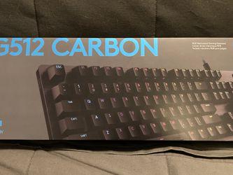Logitech G512 Lightsync RGB Keyboard for Sale in Skokie,  IL