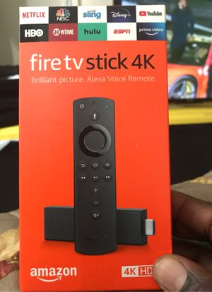 4K Firestick w/ movie, tv, and live sports apps for Sale in Tampa, FL