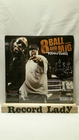 """8 Ball And MJG """"Ridin' High"""" Ft. Notorious B.I.G, Three 6 Mafia etc. vinyl record hip hop/ rap for Sale in San Diego, CA"""