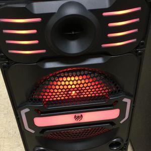 312#966#77#32 Central Park Y George Bocinas recargable con Bluetooth y radio perfecta para cantar karaoke for Sale in Chicago, IL