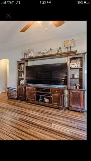 5 Piece Wood Entertainment Center for Sale in Arlington, TX