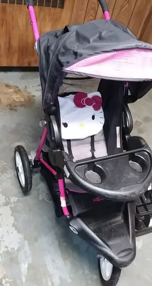 Hello kitty stroller carseat combo for Sale in Mount Oliver, PA