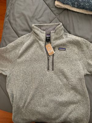 Patagonia Men's Bettet Sweater 1/4 zip in Stonewash for Sale in San Jose, CA