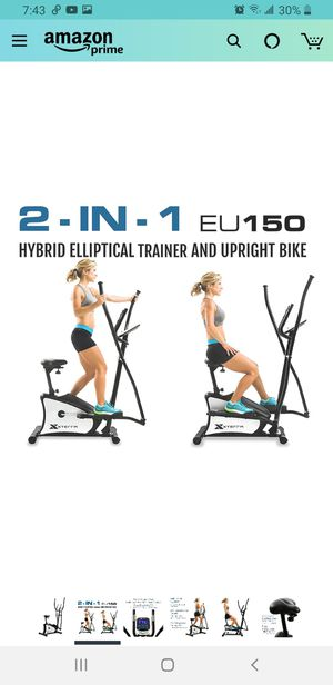 2 IN 1 ELLIPTICAL / BIKE for Sale in Kannapolis, NC