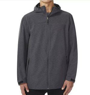 32 Degrees Men's Performance Rain Jacket Hoodie Waterproof Full Zip Tech Rainwear for Sale in Kent, WA