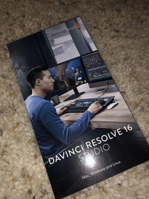 Davinci Resolve 16 Studio for Sale in Los Angeles, CA