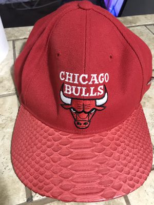 Chicago bulls cap snakeskin for Sale in Baltimore, MD