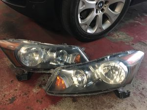 2008 - 2012 Honda Accord OEM Original Genuine Headlights Headlamps LH RH Pair for Sale in Andover, MA