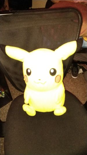 Medium sized Pikachu plushie for Sale in Fresno, CA