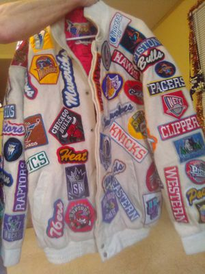 Nba eastern authentic Jeff Hamilton leather jacket for Sale in Pine Bluff, AR