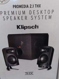 Klipsch Desktop Speaker System for Sale in Damascus,  OR