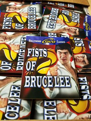 650 New DVDs Fists of Bruce Lee Bruce Li Martial Arts Film Kung Fu for Sale in York, PA