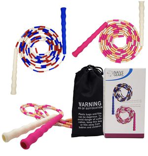 Speed Jump Ropes for fitness, Lightweight & Adjustable Skipping Rope for Men,women and kids, Anti slip Grip Handles, Home Workout, Crossfit-10 Feet 2 for Sale in Santa Ana, CA