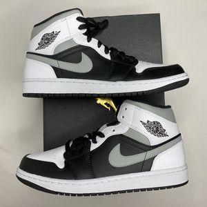 "Nike Air Jordan 1 Retro Mid ""White Shadow"" Smoke Grey 554724-073 for Sale in Seattle, WA"