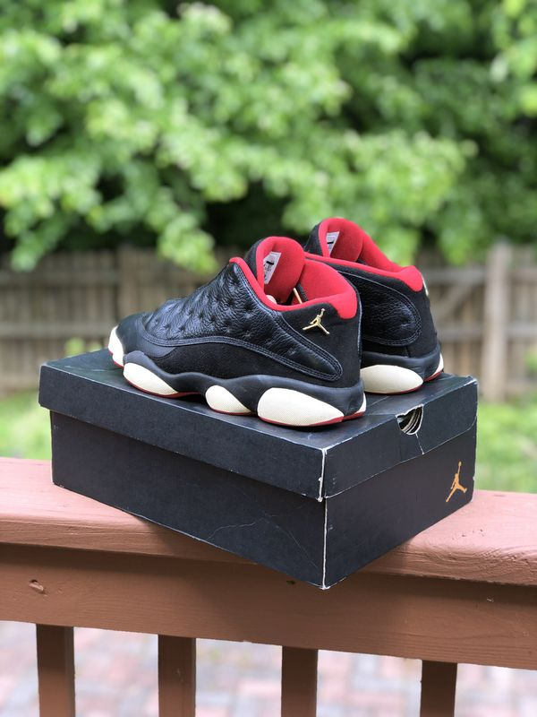 Air Jordan 13 Bred Lows Size 9