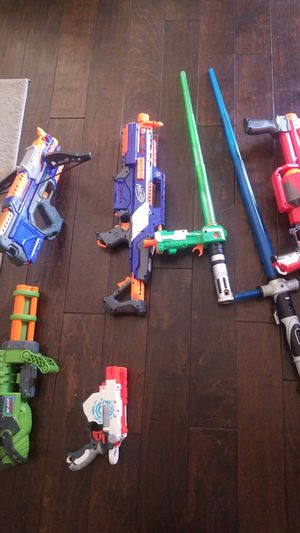 Nerf Guns $35 for all for Sale in Antioch, CA
