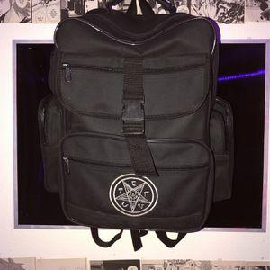 Baphomet TST Pentagram Black Bag for Sale in San Diego, CA