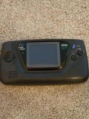 Sega Game Gear, works but no sound. Comes with game for Sale in Canton, MI
