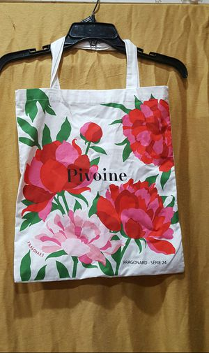 Pivoine flowery light weight tote bag for Sale in Portland, OR