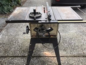 "Craftsman 10"" Table Saw for Sale in Seattle, WA"