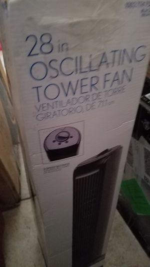 Oscillating Tower Fan by Intertek for Sale in Scottsdale, AZ
