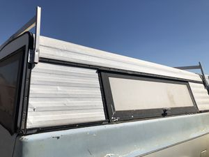Long bed camper shell for Sale in Phoenix, AZ