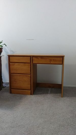 Solid Wood Desk for Sale in Vancouver, WA