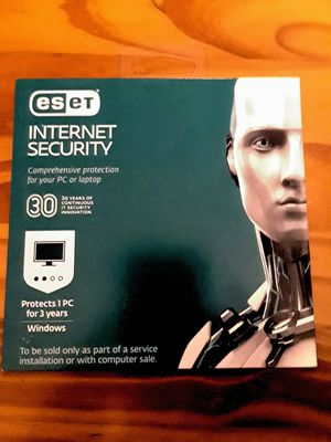 Security software - eset. NEW-unopened for Sale in Brooklyn, NY