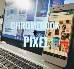 2019 Asus Chromebook 15, Google Pixel 4Gb/32GB & 30 days unlimited high-speed wifi!! for Sale in Everett, WA