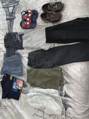 Boy clothes 3t and shoes size 8 for Sale in Tampa, FL