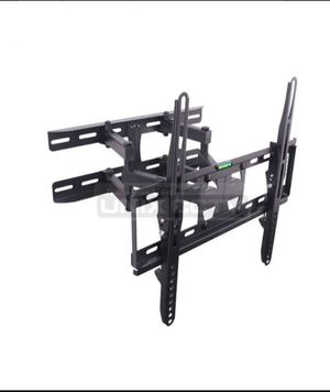 """Dual Arm LCD / LED TV Mount, 23 ~ 60in, Tilt & Rotate, Max 110 lbs, 70 ~ 370mm Extension, Black Fit for most 23"""" ~ 60"""" TVs • Max.VESA: 400 × 400 for Sale in Downey, CA"""