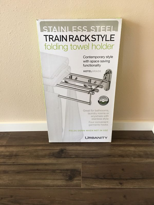 Towel rack holder