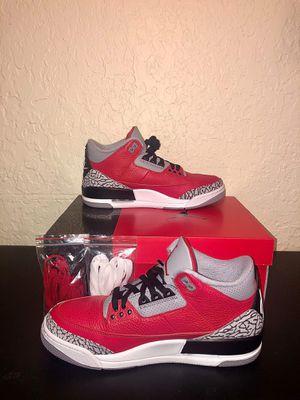 """Air Jordan 3 Retro Se """"Red Cement"""" for Sale in Miami, FL"""