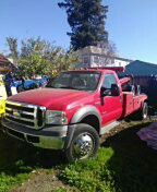 Tow Truck 2005, F450, xl bsuper duty. Power stroke turbo diesel v8. Stick shift. Leather Interior...Excellent mechanical condition. Well serviced for Sale in Oakland, CA