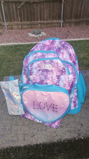 Purple LOVE BACKPACK for Sale in San Bernardino, CA