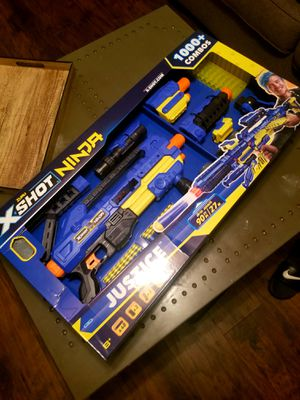 X-shot ninja nerf gun. for Sale in Moore, OK
