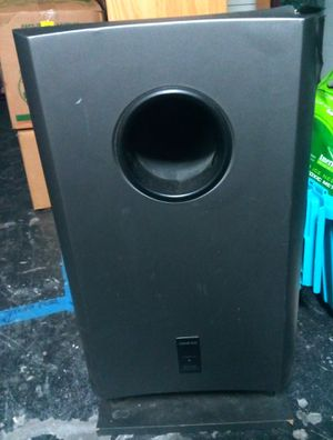 """ONKYO 10"""" Powered Subwoofer SKW-240 5.1 Home Theater Speaker for Sale in Largo, FL"""