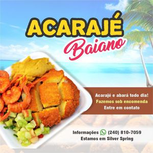 Acarajé Baiano for Sale in Silver Spring, MD