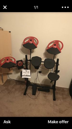 D-drum electric drum set for Sale in Dallas, TX