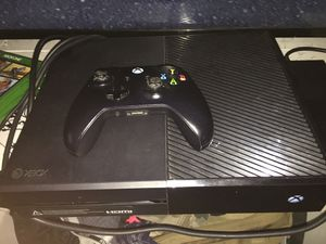 Xbox one plus games for Sale in San Angelo, TX