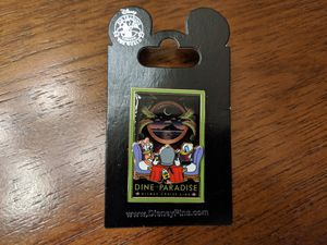 Disney Cruise line dine in Paradise pin with Donald Duck, Daisy and Pluto for Sale in Glendale, AZ