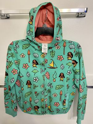 Girls Disney Zip up Moana hoodie for Sale in Downey, CA