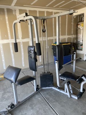 Full body workout for Sale in Visalia, CA