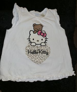Baby girl shirt Hello Kitty/H&M/9-12 months for Sale in Portland, OR