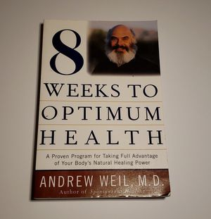 8 Weeks to Optimum Health by Andrew Weil, M.D. for Sale in Chula Vista, CA