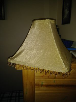 Two different lamp shades. for Sale in Kansas City, MO