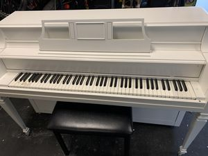 Piano $100 works just fine - painted it white for Sale in Alamo, CA