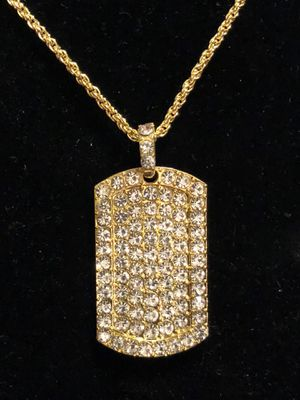 Pendant Iced Out Rhinestones for Sale in Seattle, WA